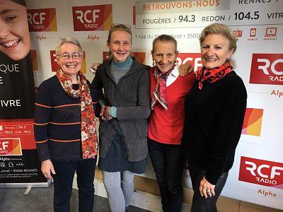 Le Carré VIP de mai reçoit trois femmes formidables autour de la «VIP» Odile Ferron-Verron